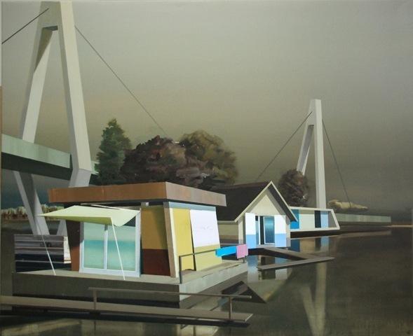 , 'Rooms by the sea (Edward Hopper),' 2015, AKINCI