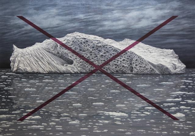 , 'iceberg quinacridone X,' 2017, Ro2 Art