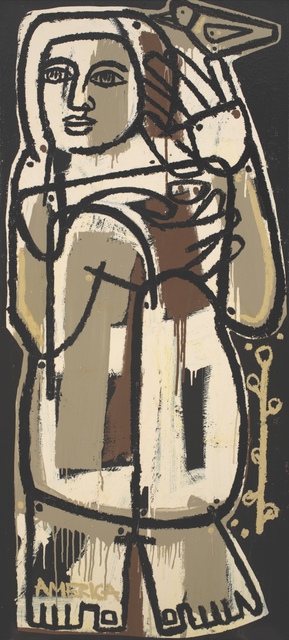 , 'Woman with Bird,'  , JoAnne Artman Gallery