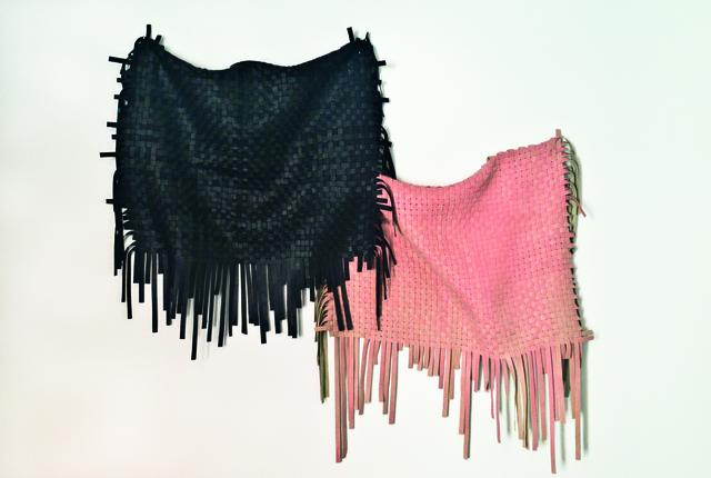 Ana Roldán, 'Sculpture 1 (Tissue) Pink/Black', 2018, Instituto de Visión