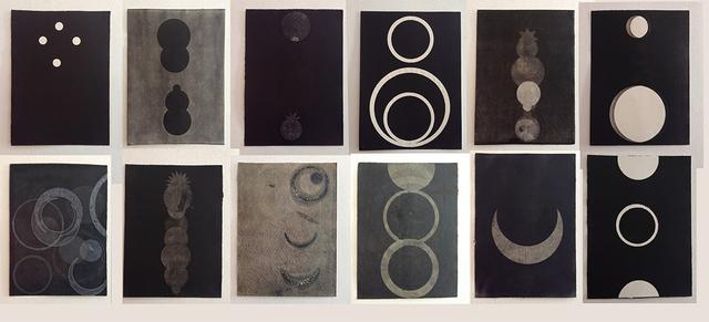 , 'Del libro Negro de la noche I,' 2013, Alejandra von Hartz Gallery