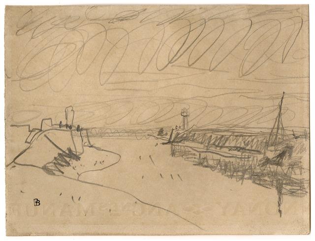 , 'Deauville l'embouchure de La Touque,' ca. 1936, Pace/MacGill Gallery