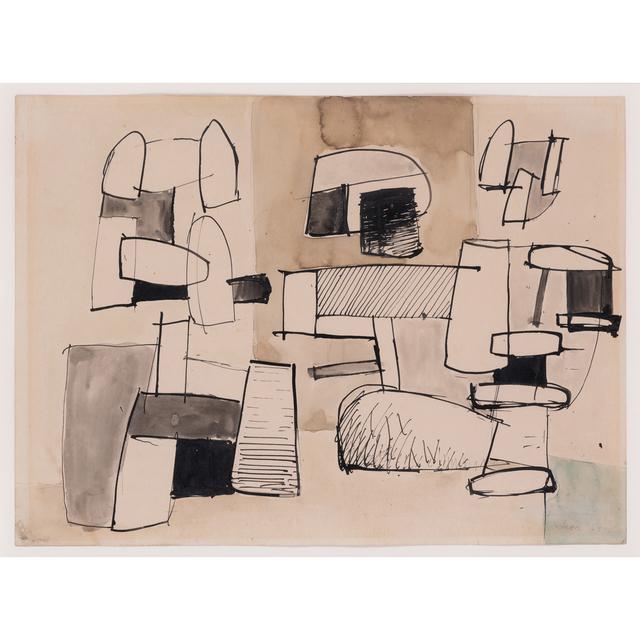Jean Hélion, 'Étude pour trois figures', 1934, PIASA
