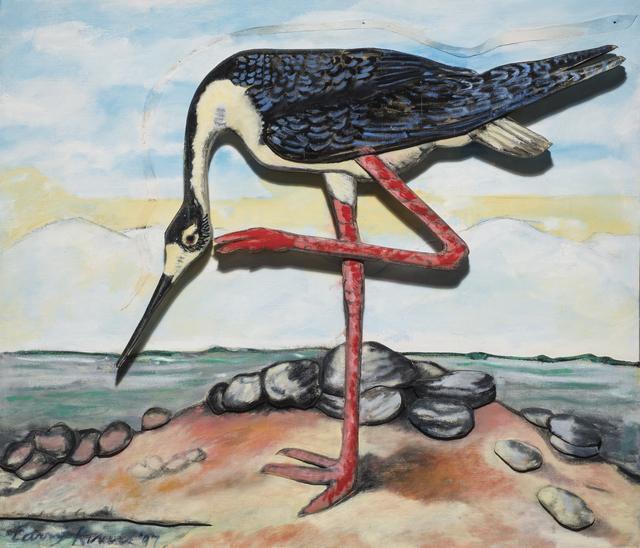 Larry Rivers, 'Black Necked Stilt', 1997, The Sunfair Gallery