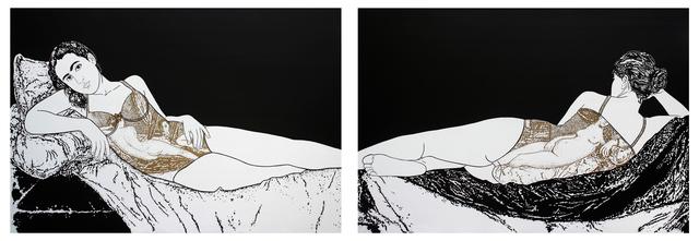, 'Diptych: Untitled,' 2016, ArteMorfosis - Galería de Arte Cubano