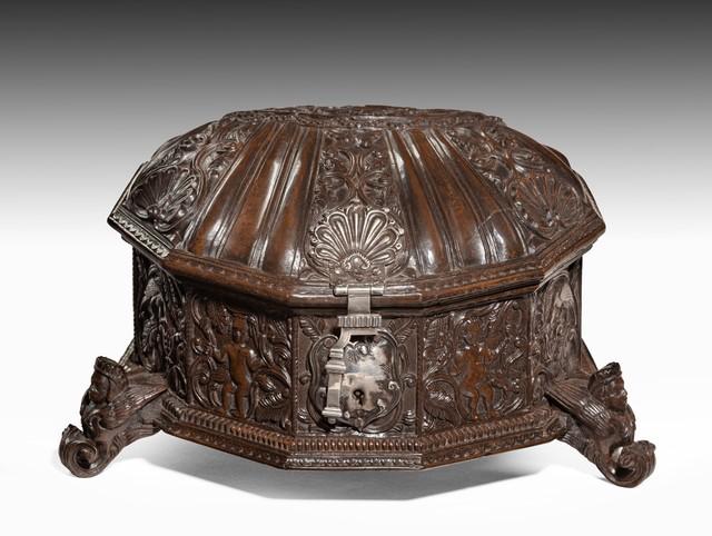, 'Coquera (Coca Box)  from UPPER PERU (NOW BOLIVIA), Moxos or Chiquitos,' ca. 1770, Thomas Coulborn & Sons