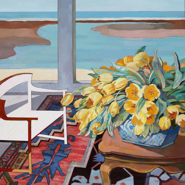 , 'Tulips on Deck,' 2016, Tao Water Art Gallery