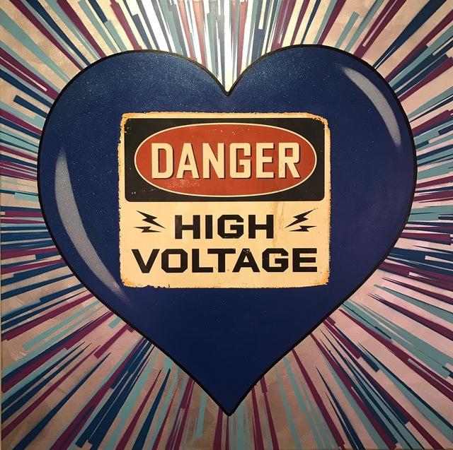 , 'High Voltage (Blue),' 2016, Octavia Art Gallery