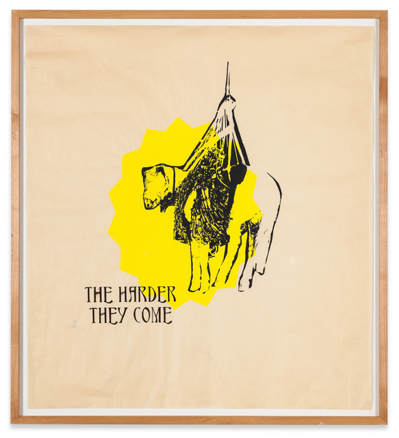 , 'Blind Horse (No One No Worry),' 2005, V1 Gallery