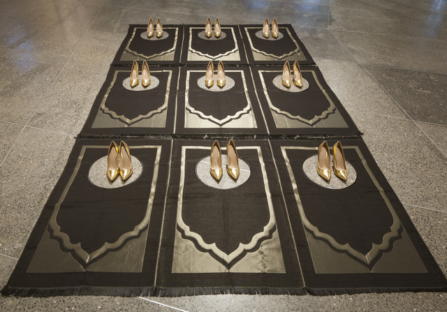 , 'Silence Noir,' 2016, Sabrina Amrani