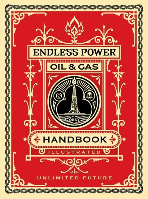 Shepard Fairey, 'Endless Power Handbook', 2015, Rudolf Budja Gallery