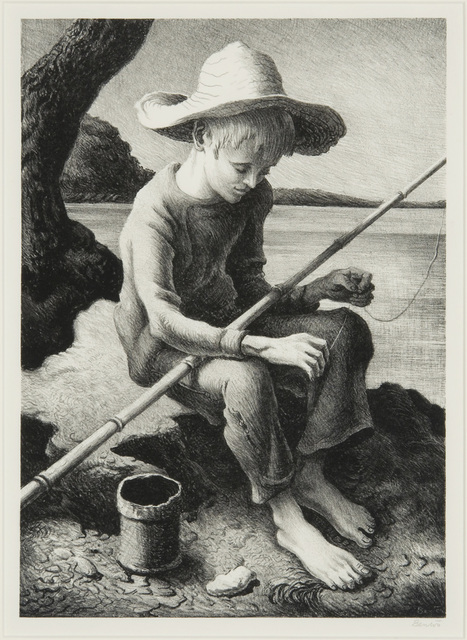 , 'The Little Fisherman,' 1967, Valley House Gallery & Sculpture Garden
