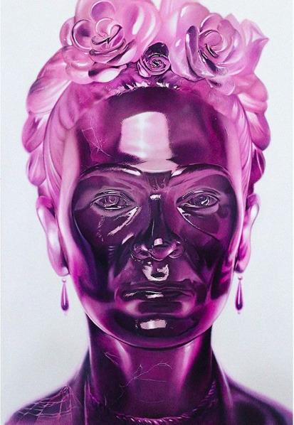 , 'Frida Kahlo Crystal Series - Purple,' 2019, Art Angels