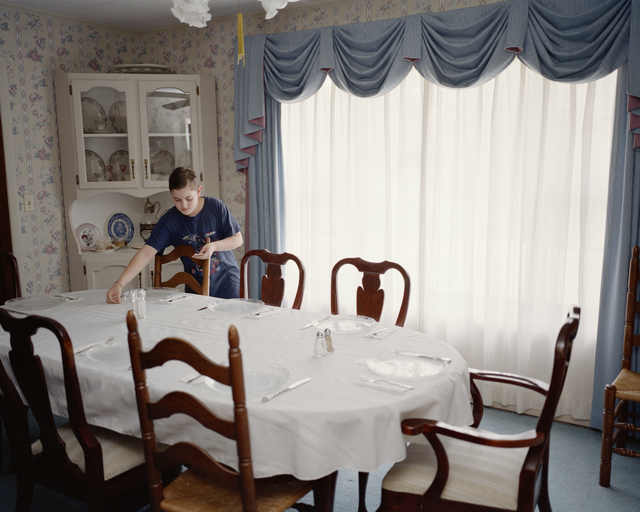 , 'Little Steven Setting the Table (from the series Waiting for a Sign),' 2002, Cantor Fitzgerald Gallery, Haverford College