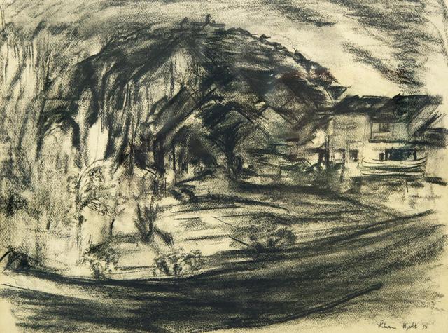 Lilian Holt, 'Vezeley, France', 1953, Gillian Jason Gallery
