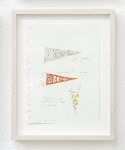 , 'Pennants, Animals and Curators,' 2017, MKG127