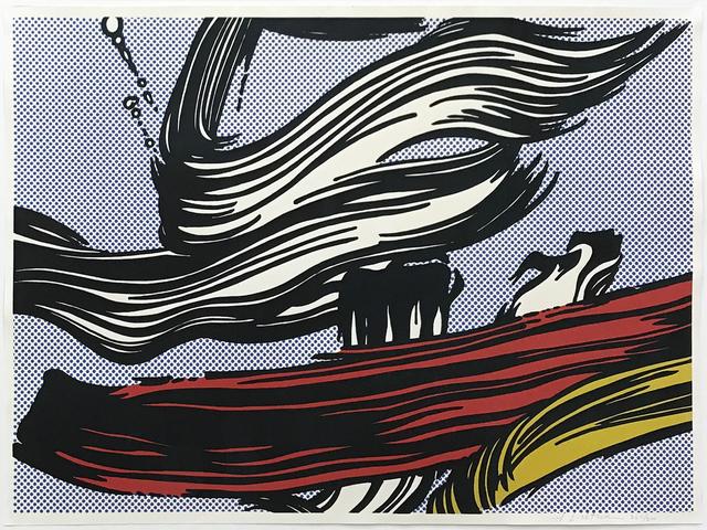 , 'Brushstrokes,' 1967, MLTPL