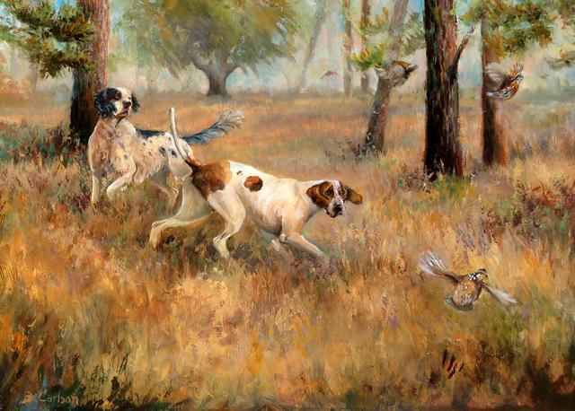 , 'Sneaking Away,' 2013, Dog & Horse Fine Art