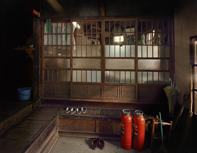 ", 'Hongo: Hongokan Apartment, 6-20-3 Hongo, Bunkyo-ku, from the series ""Machi"",' 1977, PRISKA PASQUER"