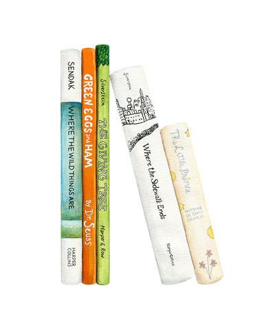 , 'A Child's Bookshelf ,' , ArtStar