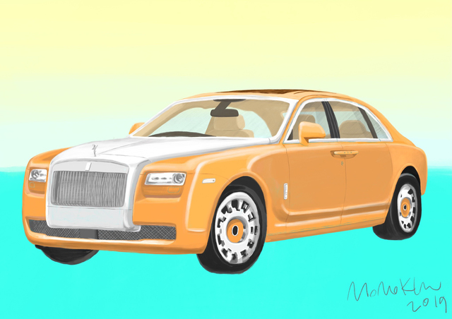 , 'Yellow Rolls Royce,' 2019, Red Chamber Gallery