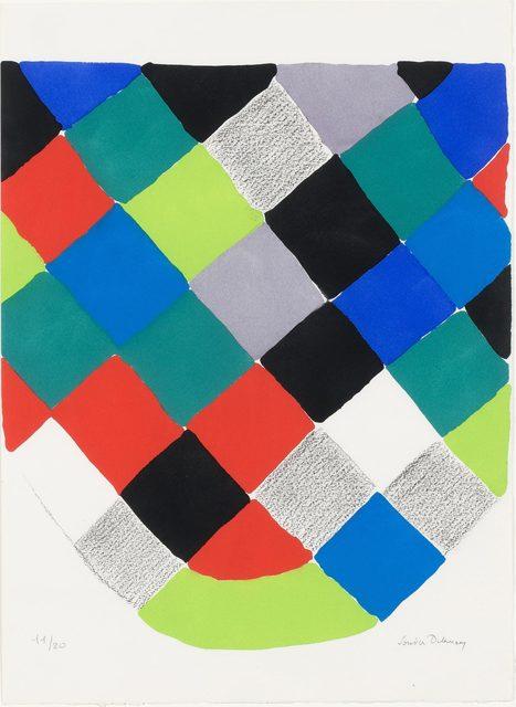 Sonia Delaunay, 'COMPOSITION', 1973, Doyle