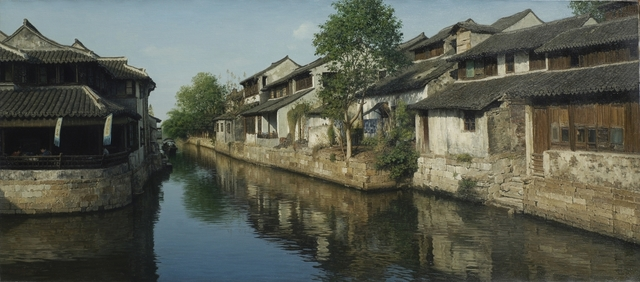 Yihua Wang, 'Ancient Town', contemporary, Odon Wagner Gallery