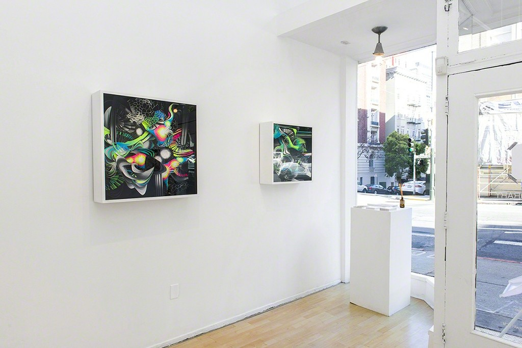 """Microcosm"" - a solo show by Crystal Wagner. On view at Hashimoto Contemporary June 30 - July 23, 2016."