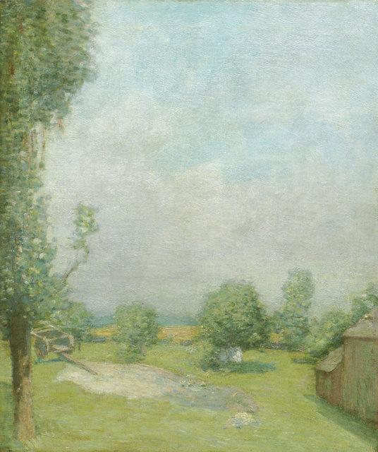 Julian Alden Weir, 'The Farm at Branchville', 19th -20th Century, Vose Galleries
