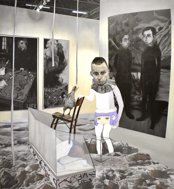 Carolina Muñoz, 'Desaparecer en el Espacio', 2019, Isabel Croxatto Galería