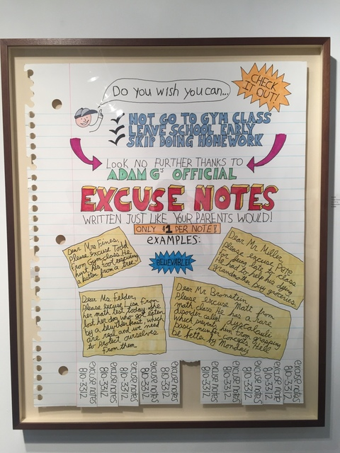 , 'Excuse Notes,' 2016, Art Unified Gallery