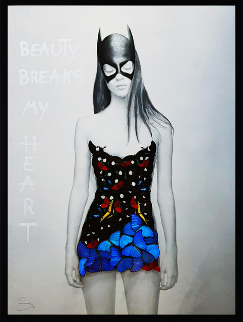 , 'Superhero (Black & Blue),' 2019, Eden Fine Art