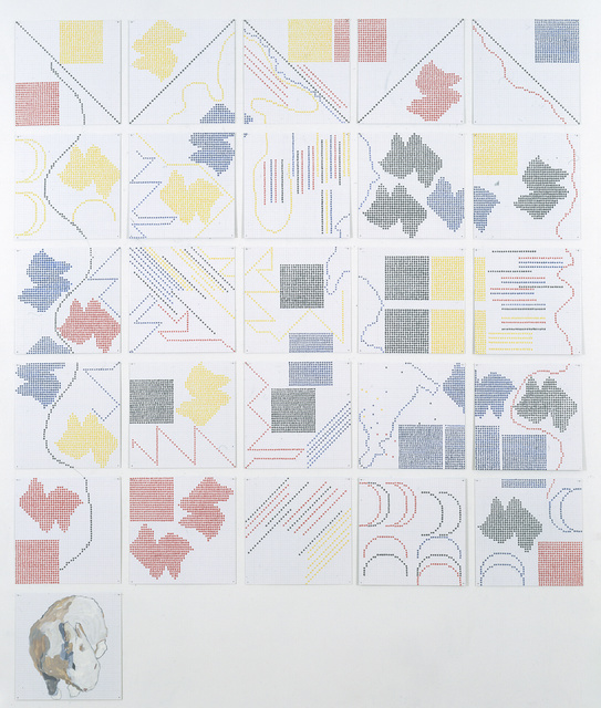 Jennifer Bartlett, 'Alphabet Five', 1993, Lehmann Maupin