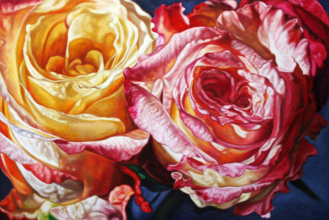 , 'Spring Roses,' , Wallace Galleries