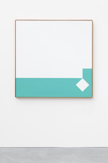 , 'Weiss - Grün Volumen 3 : 1 ,' , von Bartha