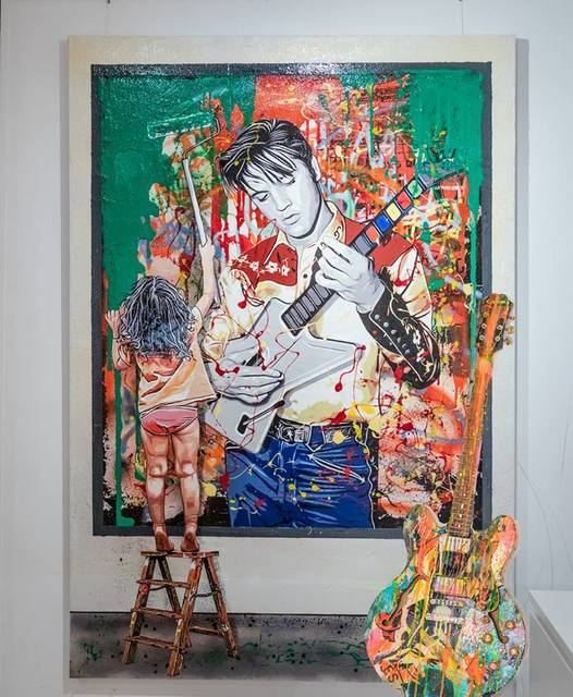 Michael Waizman, 'My Elvis', 2018, Miss D Gallery