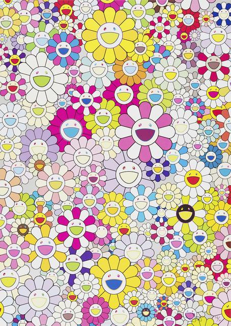 Takashi Murakami, 'An Homage to Yves Klein, Multicolor', 2012, Kunzt Gallery