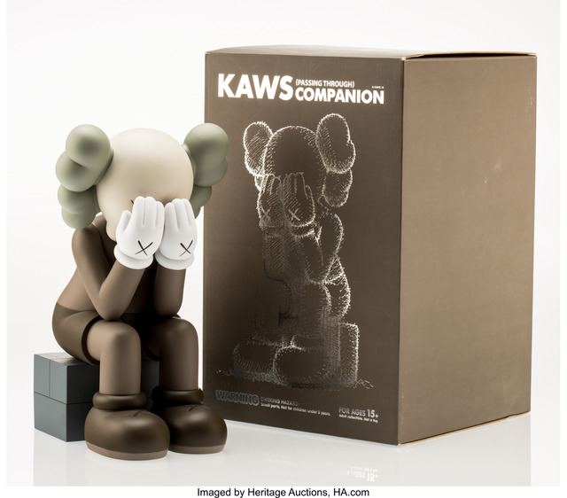 KAWS, 'Companion-Passing Through (Brown)', 2013, Heritage Auctions