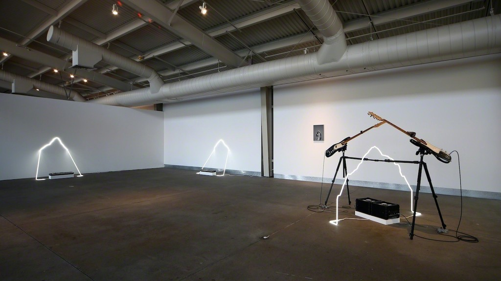 """Installation view of """"Richard T. Walker: the fallibility of intent.""""  Photo: Wilfred J. Jones / di Rosa, Napa."""