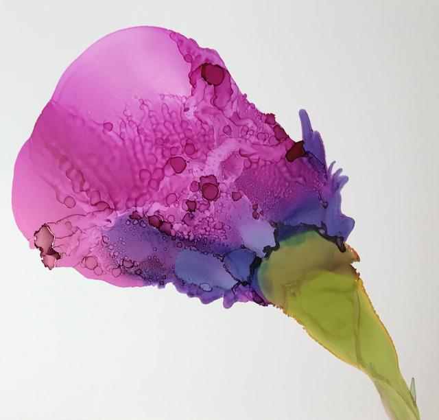 , 'Juicy Plum Rose,' , Chicago Art Source