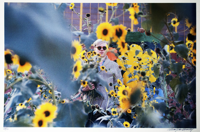 William John Kennedy, 'Andy Warhol with Flowers ', 1964, William John Kennedy Collection