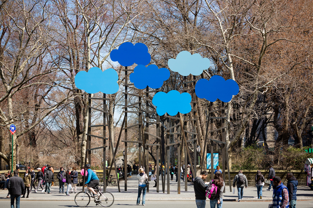 , 'Clouds,' 2014, Public Art Fund