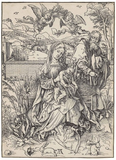, 'The Holy Family with three Hares (B. 102; M., Holl. 212; S.M.S. 108),' ca. 1497, Christie's Old Masters