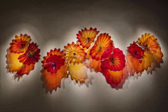 Dale Chihuly, 'Copper Ruby Persian Wall', 2018, Arthur Roger Gallery