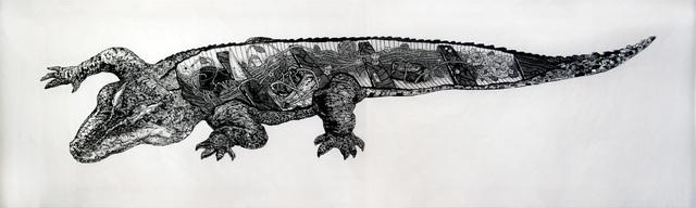 , 'Alligator Canoe,' 2015, Red Arrow Gallery
