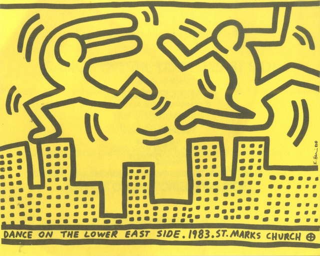 , 'Dance on the Lower East Side (from the Estate of Tim Hunt, curator of the Warhol Foundation),' 1983, Alpha 137 Gallery