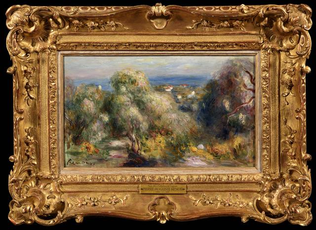 Pierre-Auguste Renoir, 'Vue des Colletes à Cagnes', ca. 1898, Trinity House Paintings