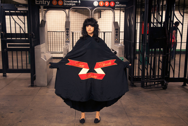 , 'Subway Cloak,' 2015, The Untitled Space