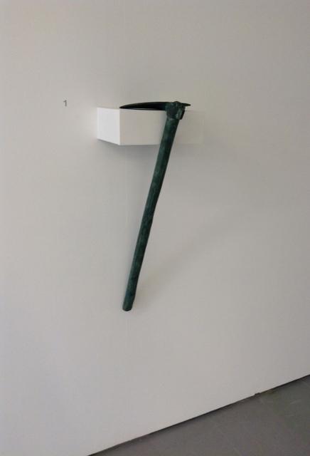 , 'Untirled,' 2007, Quadrado Azul