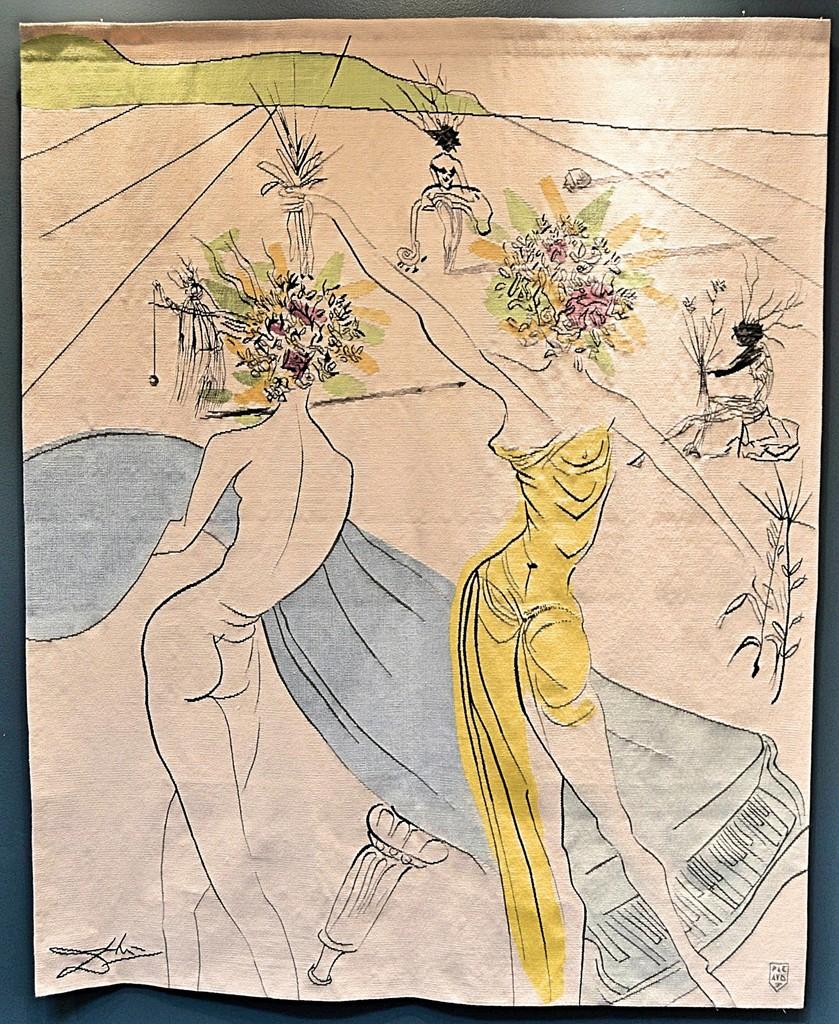 Salvador Dalí   Hippies Suite: Femmes Fleurs Au Piano (1973 ...